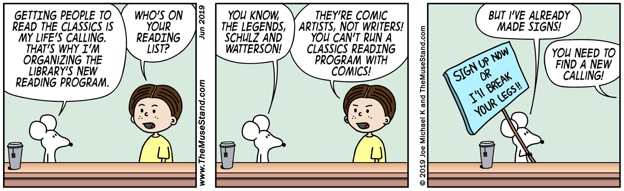 Shifty's New Summer Reading Program - Think Shop Comics