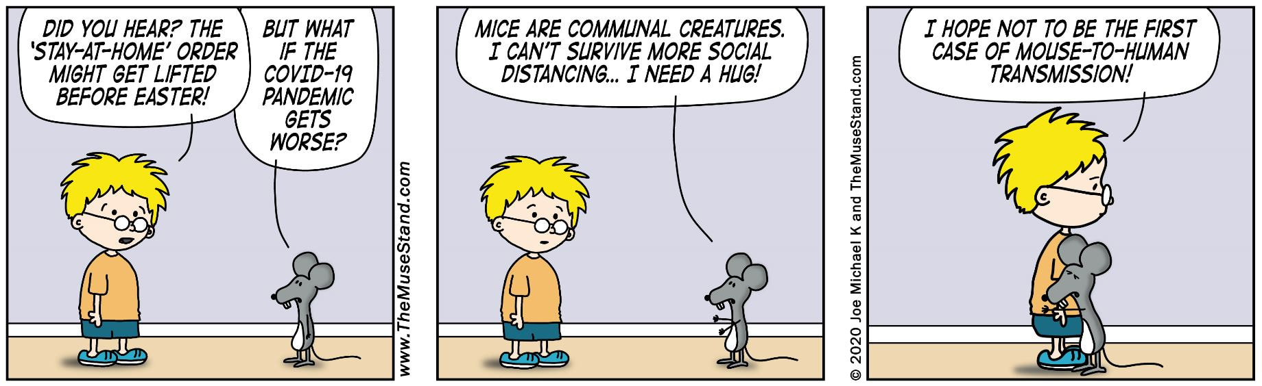 Mice Are Communal Creatures - Think Shop Comics